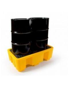 Polyethylene 2 Drum Spill Pallet