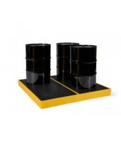 Polyethylene 4 Drum Work Floor