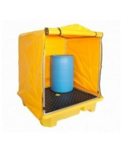 Frame and Cover to suit Polyethylene 4 Drum Spill Pallet