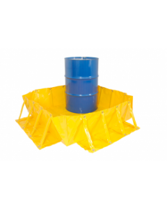 Spill Containment Collapsible Bunds