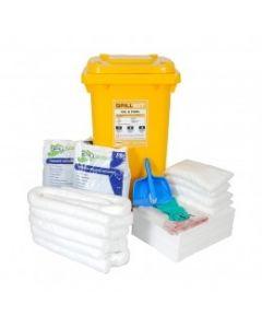 Spill Kits 240 ltr Wheelie Bin Kits