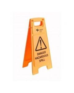 Floor Sign Hazardous Spill