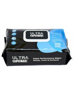 Ultra Grime Industrial Wipes - 100/pk